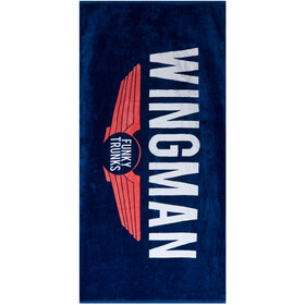 Funky Trunks Towel navy wingman